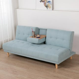 ebonia Sofa Bed Maxim Fabric - Mint Blue