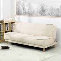 ebonia Sofa Bed Milan Fabric - Krem