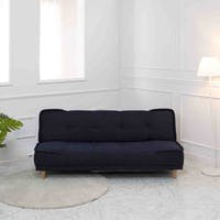ebonia Sofa Bed Milan Fabric - Biru