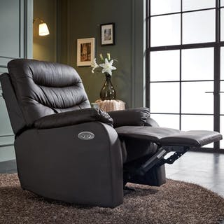 ebonia Sofa LUX Recliner POWER - Cokelat Tua