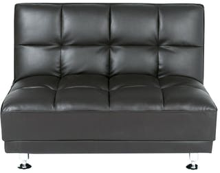 Ebonia COUCH Sofa Bed Type A PU Brown