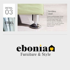 Ebonia COUCH Sofa Bed Type A PU Grey