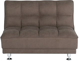 Ebonia COUCH Sofa Bed Type A Kain Brown
