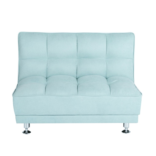 Ebonia COUCH Sofa Bed Type A Kain Mint Blue