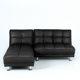 Ebonia COUCH Sofa Bed Type B PU Brown