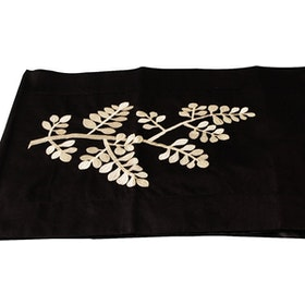 ELHA Table Runner Coklat Daun
