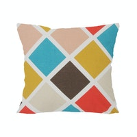 13 Episode Rhombus Cushion Cover 40cmx40cm (Cover)