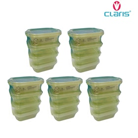 Claris Paket Foodsaver 2931 (1 paket isi 5 set @4pcs)-Green