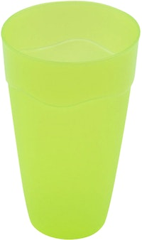 Claris Gelas Plastik Wave 2216-3 - Green 3pcs