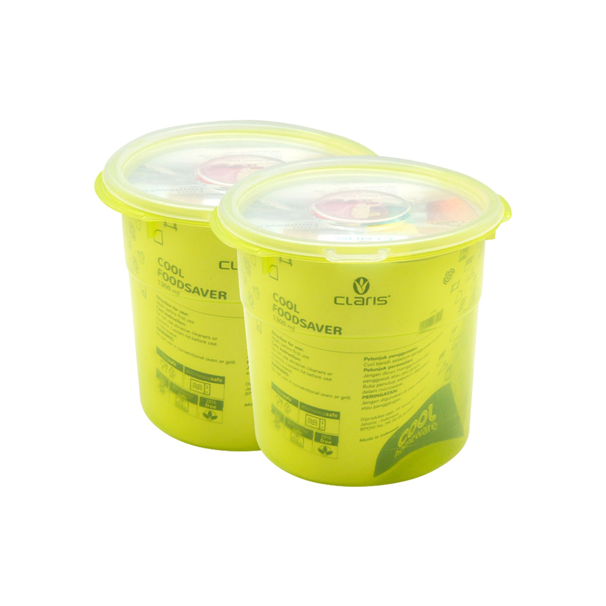 Claris Paket CR Foodsaver 2712 (1 paket isi 2 pcs)-Green