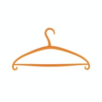 Claris Terry Hanger 0159-3 Orange 3pcs