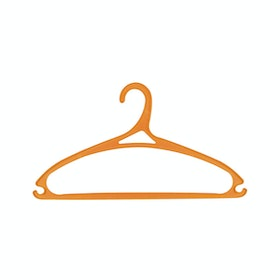 Claris Allissa Hanger 0160-6 Orange 6pcs