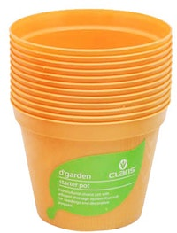 Claris Pot Bibit 6208 (12 Pcs) - Orange