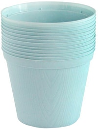 Claris Pot Bibit 6210 (12 Pcs) - Soft Blue