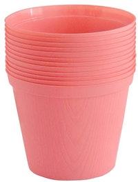 Claris Pot Bibit 6210 (12 Pcs) - Pink