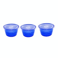 Claris Tempat Bumbu Mini 600 ML Isi 3 Pcs - 2713 Blue