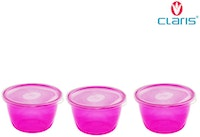 Claris Tempat Bumbu Mini 600 ML Isi 3 Pcs - 2713 Purple
