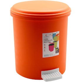 Claris Castellini Dustbin 1161 - Orange (10.5 Liter)