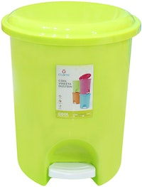 Claris Vineeta Dustbin 1166 - Green (11 Liter)