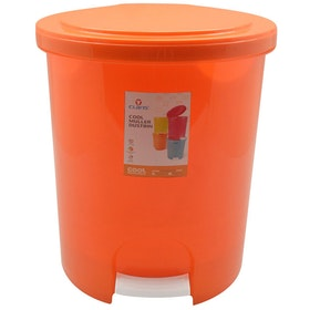 Claris Muller Dustbin 1168 - Orange (12 Liter)