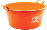 Claris Baskom AntiPecah 18 Liter 3252 - Orange ( 18 Liter )