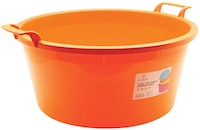 Claris Baskom AntiPecah 12 Liter 3253 - Orange (11 Liter)