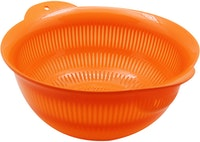 Claris Strawbasin Large 2167 CH - Orange Saringan Cuci Sayur Buah