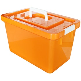 Claris Container Diora 1052 AHD - Orange (12 Liter )