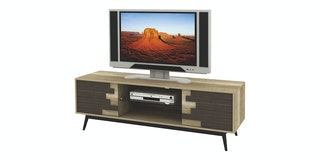 Expo Meja TV Minimalis 7505 Cokelat Canyon Oak
