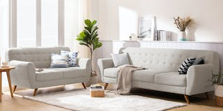 Ezma Conrad Sofa Set Grey