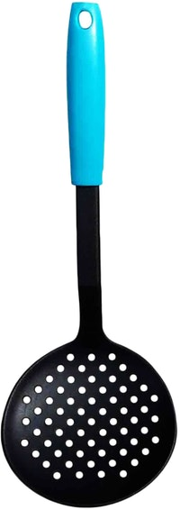 Fackelmann PP Handle Nylon Skimmer Color Ocean Blue