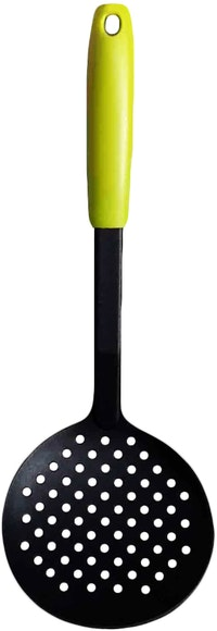 Fackelmann PP Handle Nylon Skimmer Color Lime Green