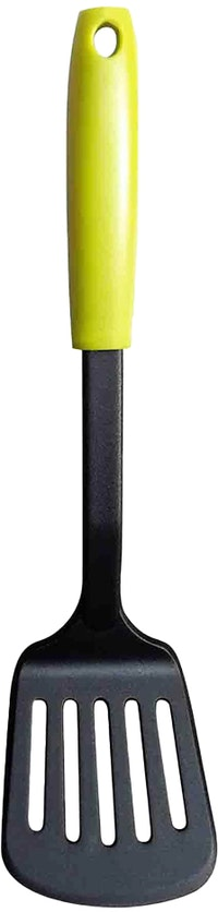 Fackelmann PP Handle Nylon Slotted Turner Color Lime Green