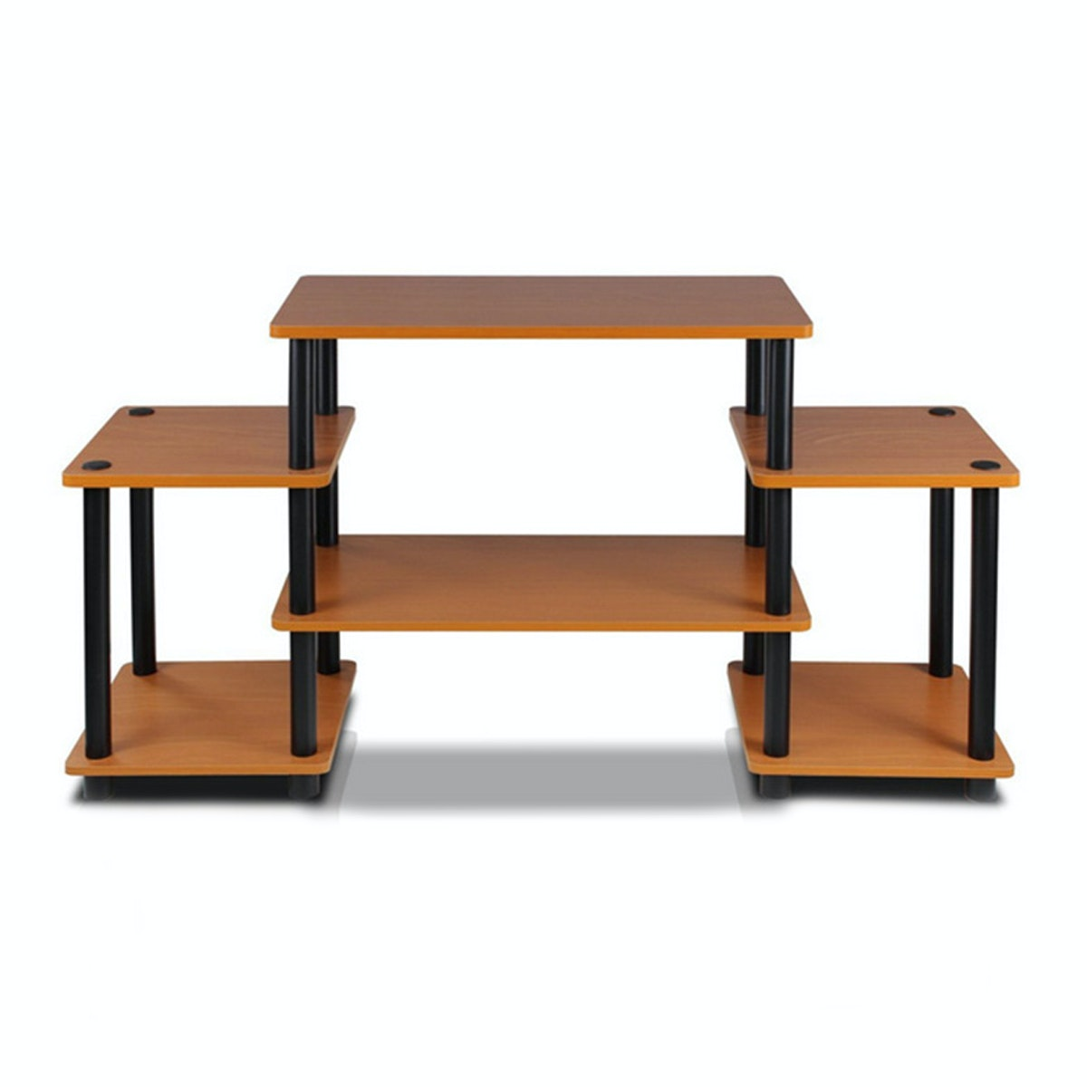 Funika 11257LC/BK - Meja TV (Entertainment Center) Light Cherry