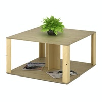 Funika Modern Coffee Table Cokelat