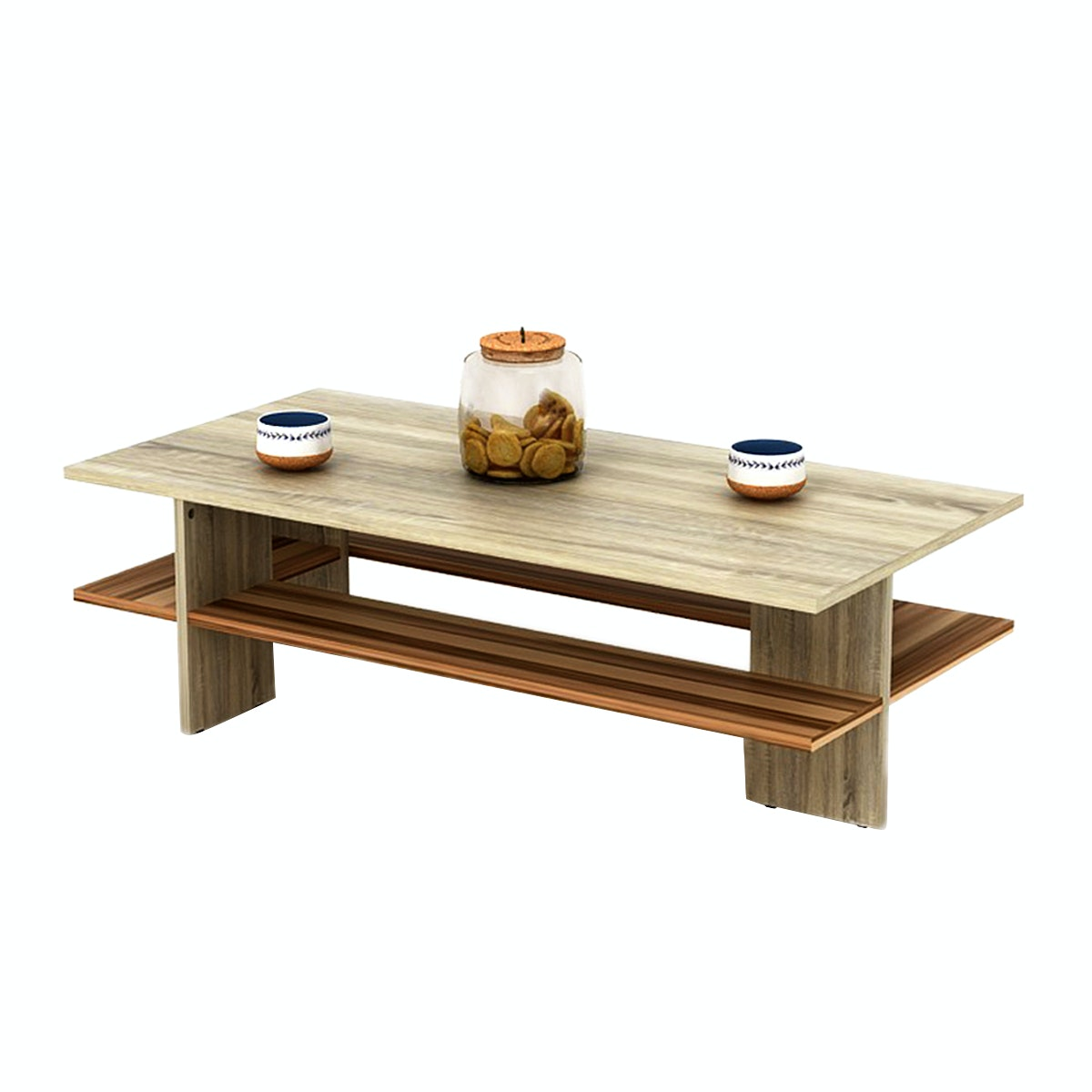 Funika Ivana Coffee Table Modern Motif Kayu