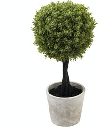 Festiva Furniture Artificial Plant Big Grass Ball With Vase 0339 5 Yw5