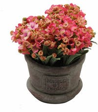 Festiva Furniture Artificial Plant With Vase 0339 21 Pink Yw5