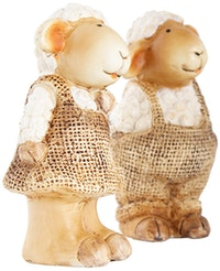 Festiva furniture Recynth Sheep Boy & Girl Set Of Two 6998 2 Yw5