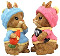 Festiva Furniture Recynth Couple Rabbit Set Of Two 8069 18