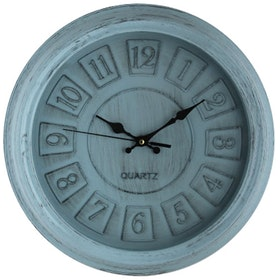 Festiva Furniture Wall Clock 15993 9 Blue