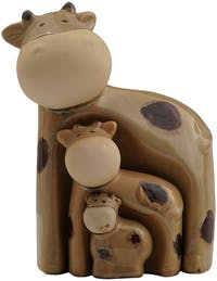 Festiva Furniture Statue Cow Set Of 3 7882-11 11x8.5x17