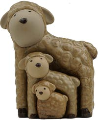 Festiva Furniture Statue Sheep Set Of 3 7882-13 11.5x8.5x16