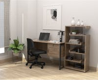 Festiva Furniture Festiva Lucian Home Office Set Krem
