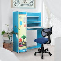 Festiva Furniture Study Desk Carson Royal Set