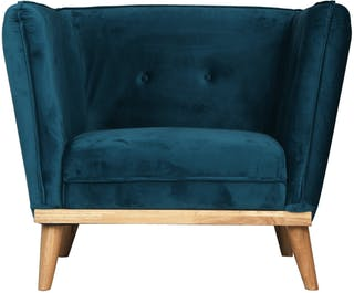 Festiva Furniture Festiva Sofa 1 Seater Grady Blue