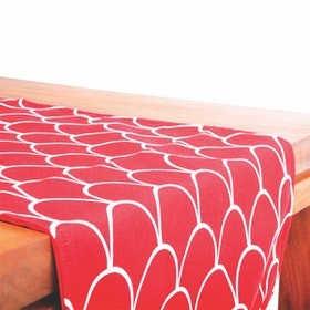 Glerry Home Decor Red Passion Table Runner 100x30cm