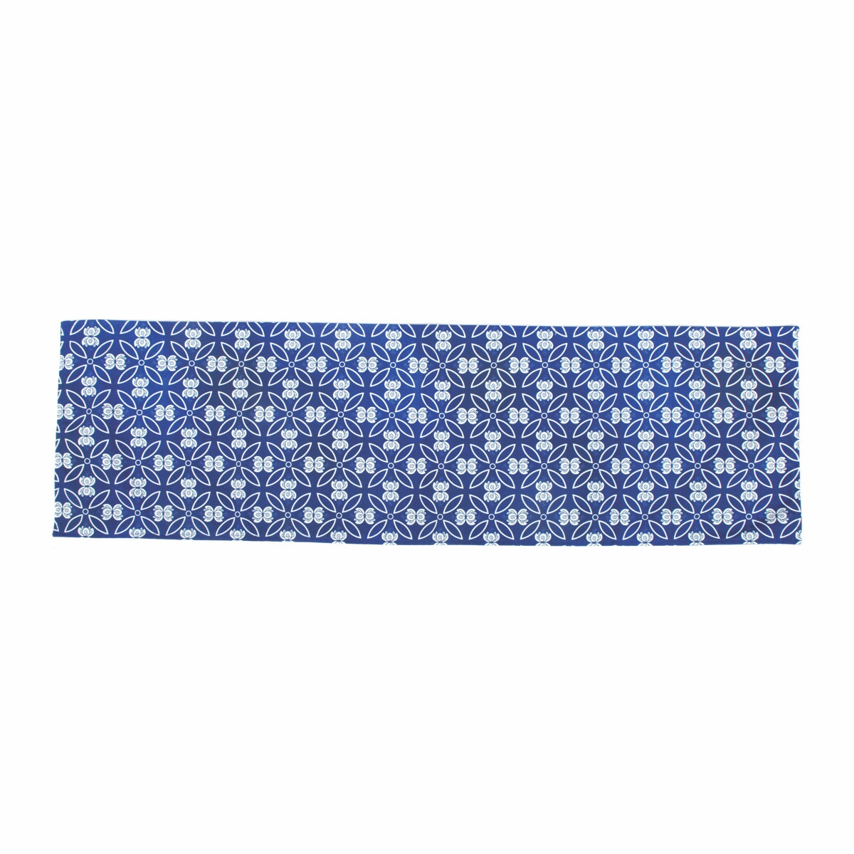 Glerry Home Decor Dew Blue Table Runner 100x30cm