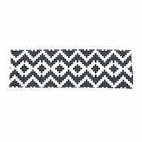 Glerry Home Decor Cubes Table Runner 100x30cm