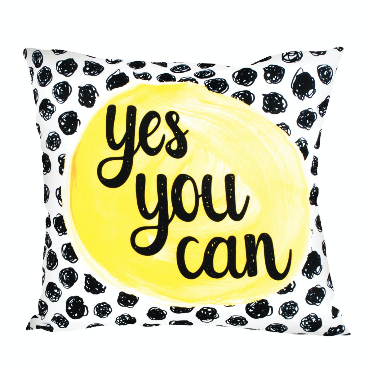 Glerry Home Decor Yes You Can Cushion 40X40cm